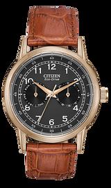 corso men s eco drive silver tone steel classic watch citizen